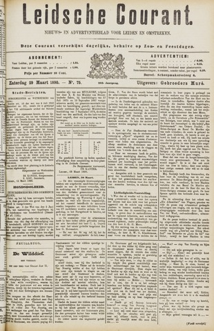 Leydse Courant 1890-03-29