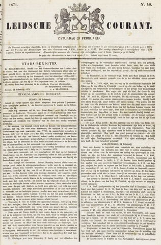 Leydse Courant 1871-02-25