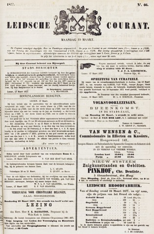 Leydse Courant 1877-03-19