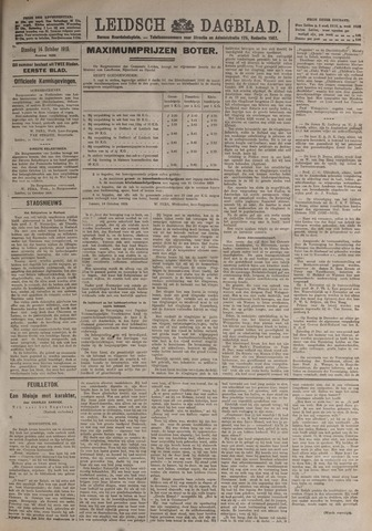 Leidsch Dagblad 1919-10-14