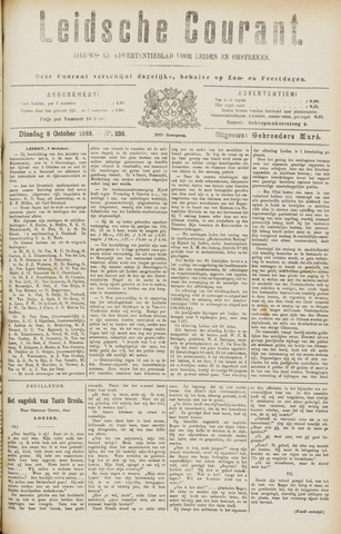 Leydse Courant 1889-10-08