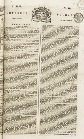 Leydse Courant 1844-01-22