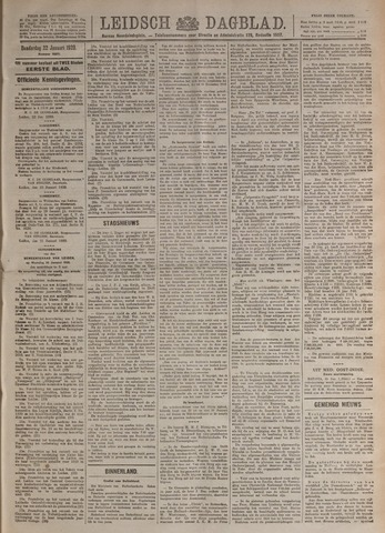 Leidsch Dagblad 1920-01-22