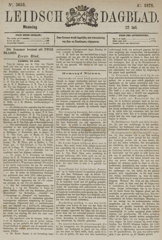 Leidsch Dagblad 1878-07-22