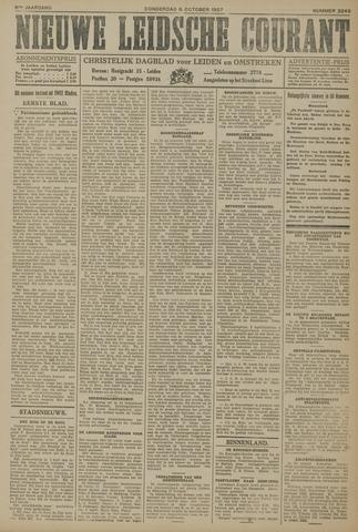 Nieuwe Leidsche Courant 1927-10-06