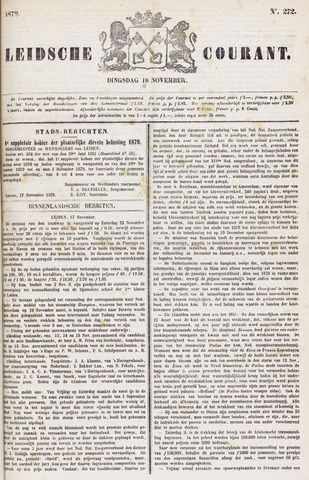Leydse Courant 1879-11-18