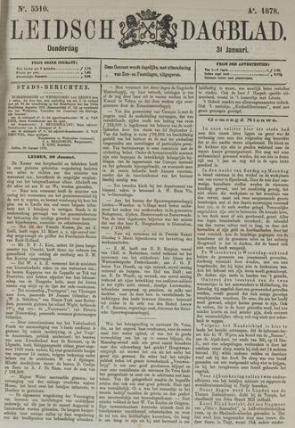 Leidsch Dagblad 1878-01-31