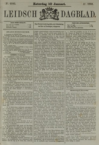Leidsch Dagblad 1880-01-10