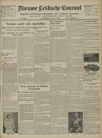 Nieuwe Leidsche Courant 1938-07-20