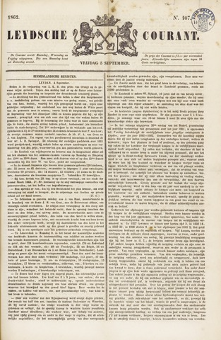 Leydse Courant 1862-09-05