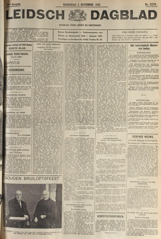 Leidsch Dagblad 1932-11-02