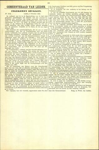 Handelingen van de Raad 1923-10-08