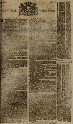 Leydse Courant 1777-10-24
