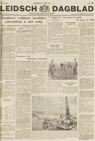 Leidsch Dagblad 1954-04-08