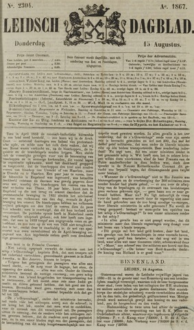 Leidsch Dagblad 1867-08-15