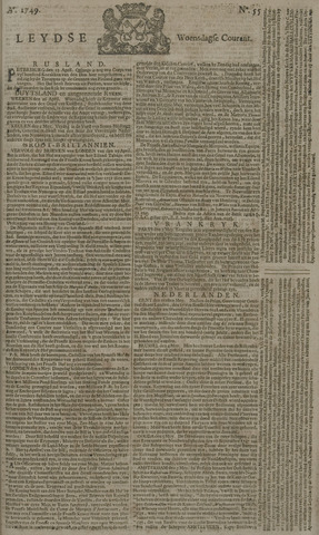 Leydse Courant 1749-05-07
