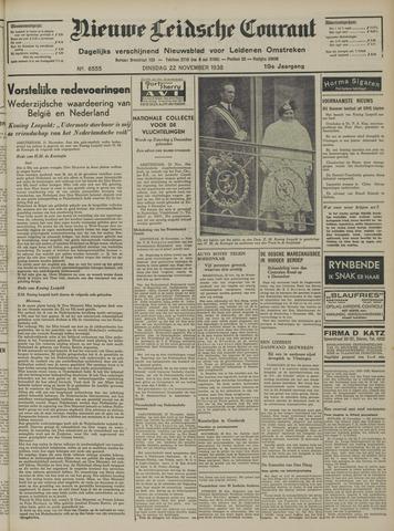 Nieuwe Leidsche Courant 1938-11-22