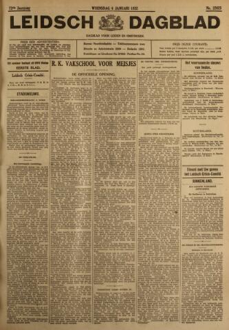 Leidsch Dagblad 1932-01-06