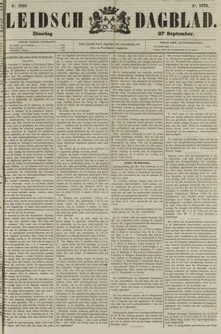 Leidsch Dagblad 1870-09-27
