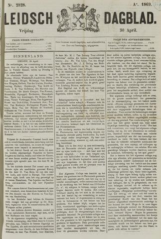 Leidsch Dagblad 1869-04-30