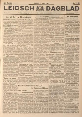 Leidsch Dagblad 1942-04-14
