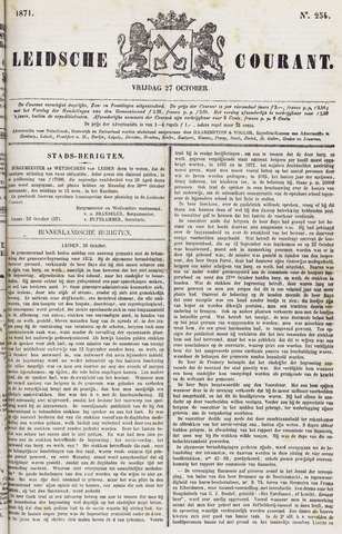 Leydse Courant 1871-10-27