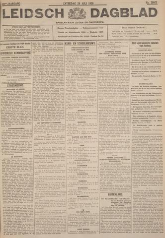 Leidsch Dagblad 1928-07-28