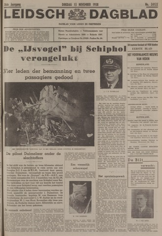 Leidsch Dagblad 1938-11-15