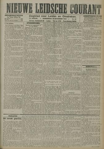 Nieuwe Leidsche Courant 1923-11-29