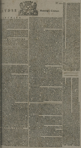 Leydse Courant 1744-09-14