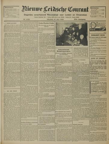 Nieuwe Leidsche Courant 1939-07-14