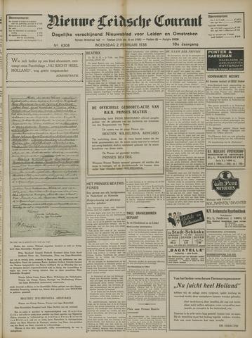 Nieuwe Leidsche Courant 1938-02-02