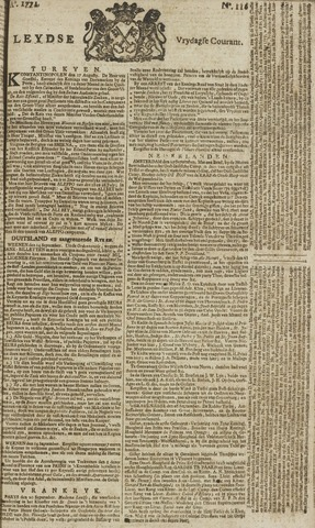 Leydse Courant 1771-09-27