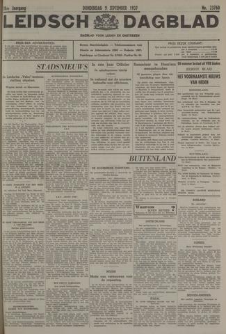 Leidsch Dagblad 1937-09-09