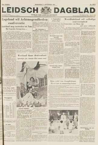 Leidsch Dagblad 1954-09-02