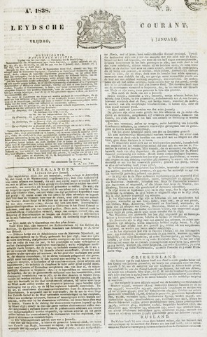 Leydse Courant 1838-01-05