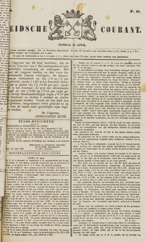 Leydse Courant 1885-04-28