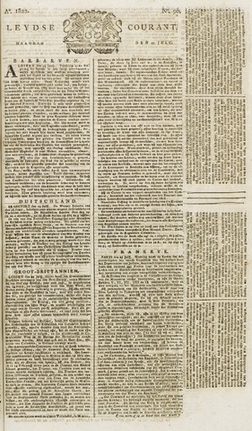 Leydse Courant 1822-07-29