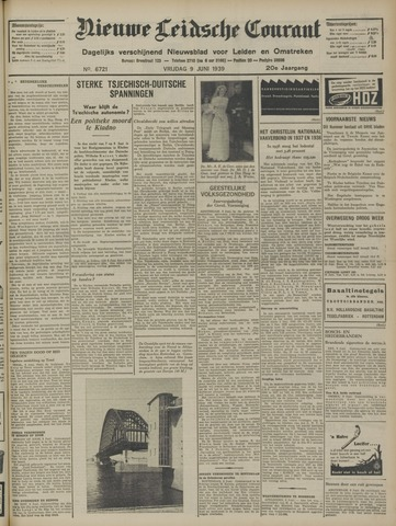 Nieuwe Leidsche Courant 1939-06-09