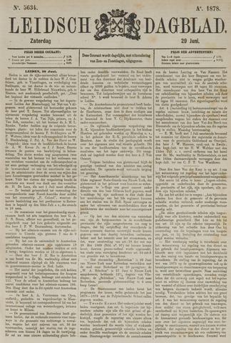 Leidsch Dagblad 1878-06-29