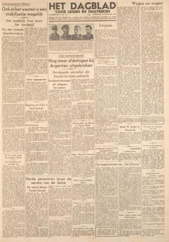 Dagblad voor Leiden en Omstreken 1944-08-23