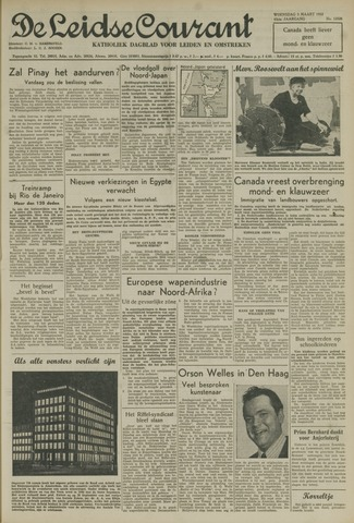Leidse Courant 1952-03-05