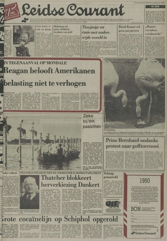 Leidse Courant 1984-07-25