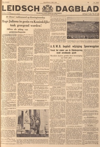 Leidsch Dagblad 1949-05-02