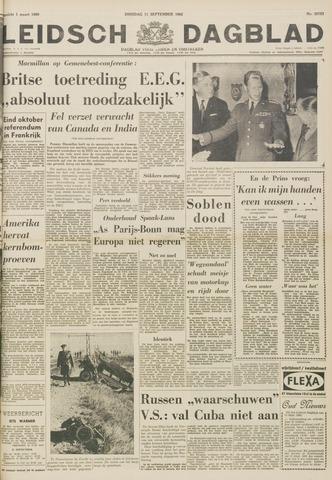 Leidsch Dagblad 1962-09-11