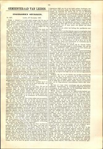 Handelingen van de Raad 1907-11-27