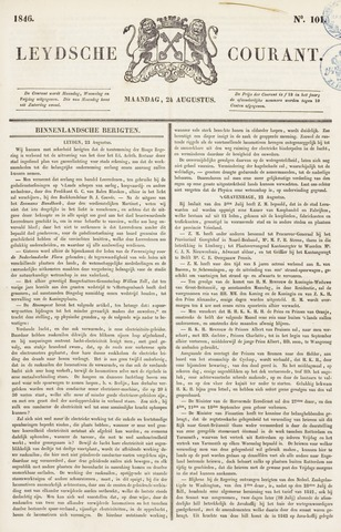 Leydse Courant 1846-08-24