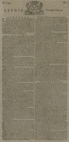 Leydse Courant 1744-01-03