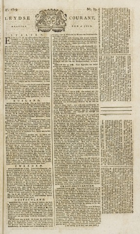 Leydse Courant 1819-07-26