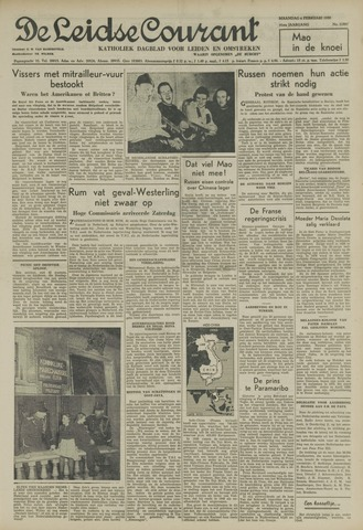 Leidse Courant 1950-02-06